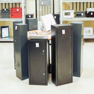Қару сақтауға арналған металл шкафтар